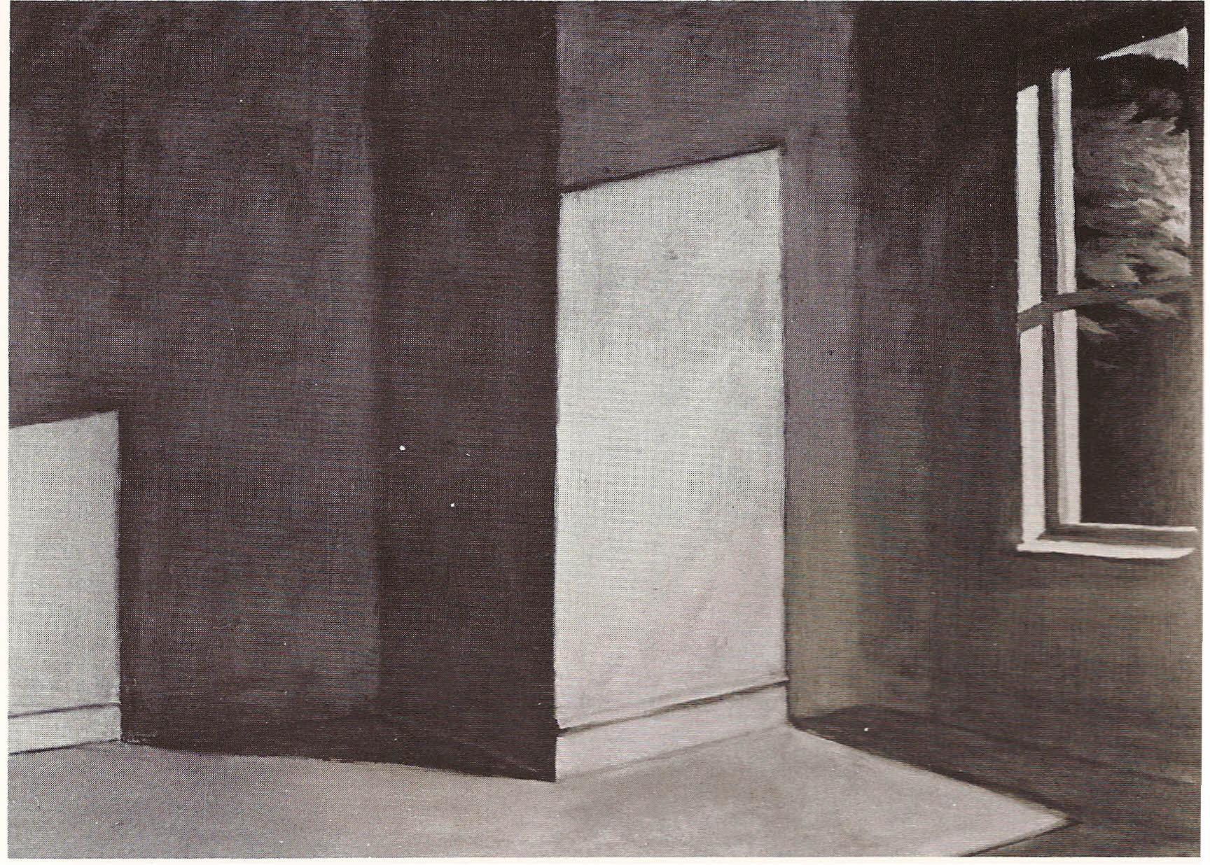 Edward hopper aantekeningen bij zijn schilderijen j bernlef tijdschrift raster - Kamer schilderij ...