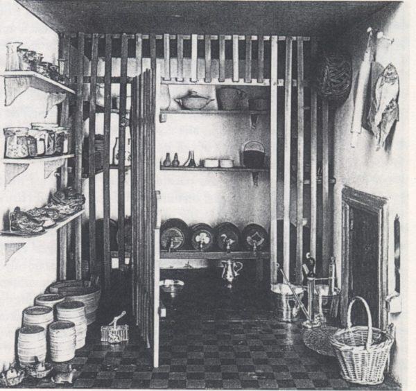 Poppenhuis van Petronelia Dunois: Kelder.