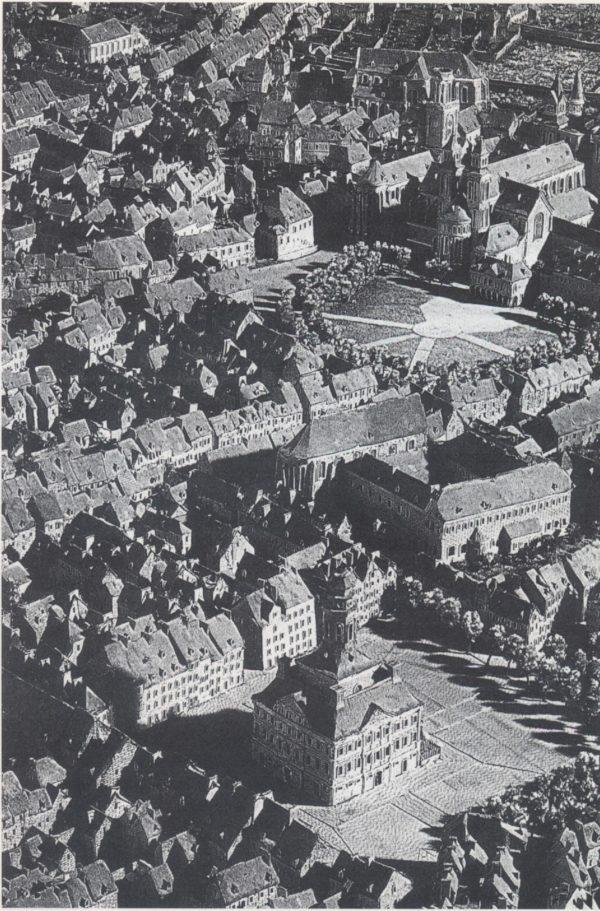 Maquette van de vesting Maastricht (detail).